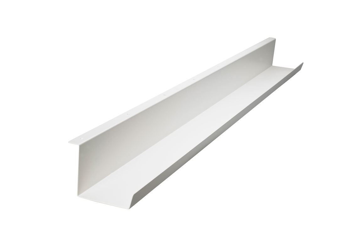 Under Desk Cable Tray Manager White Complement